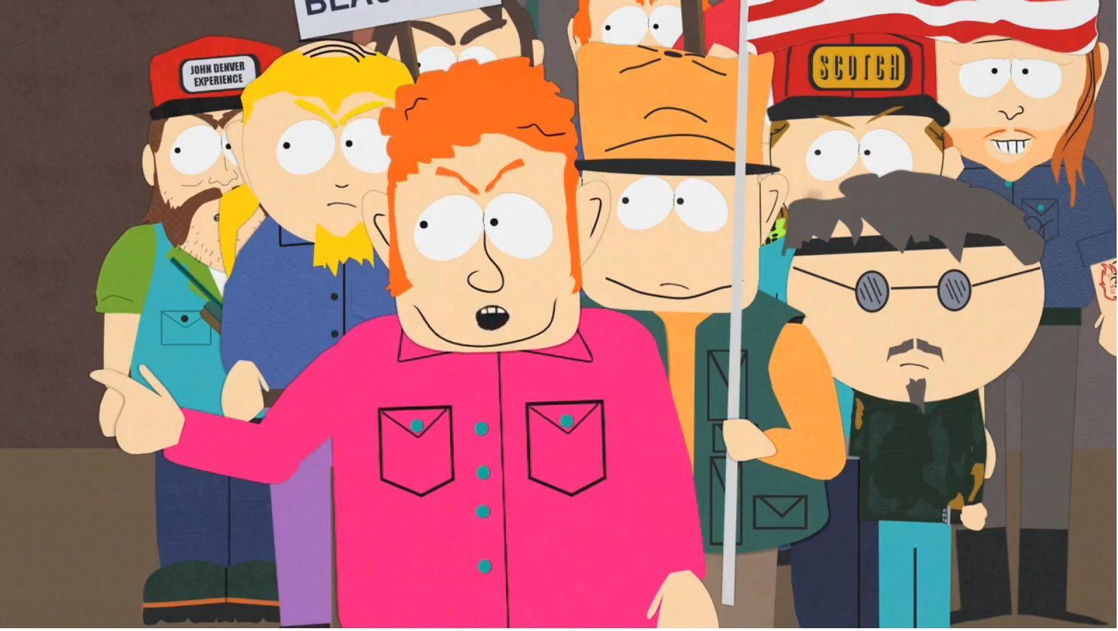 Hat Mccullough Is Pro War South Park Fallout Vault Boy Funny