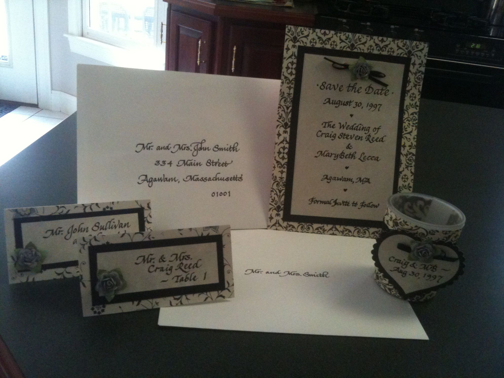 Wedding season is right around the corner. If you or anyone you know is getting married and needs invitations addressed, along with place cards, table cards, menus, seating charts, etc., please contact me at cmbreed@comcast.net.