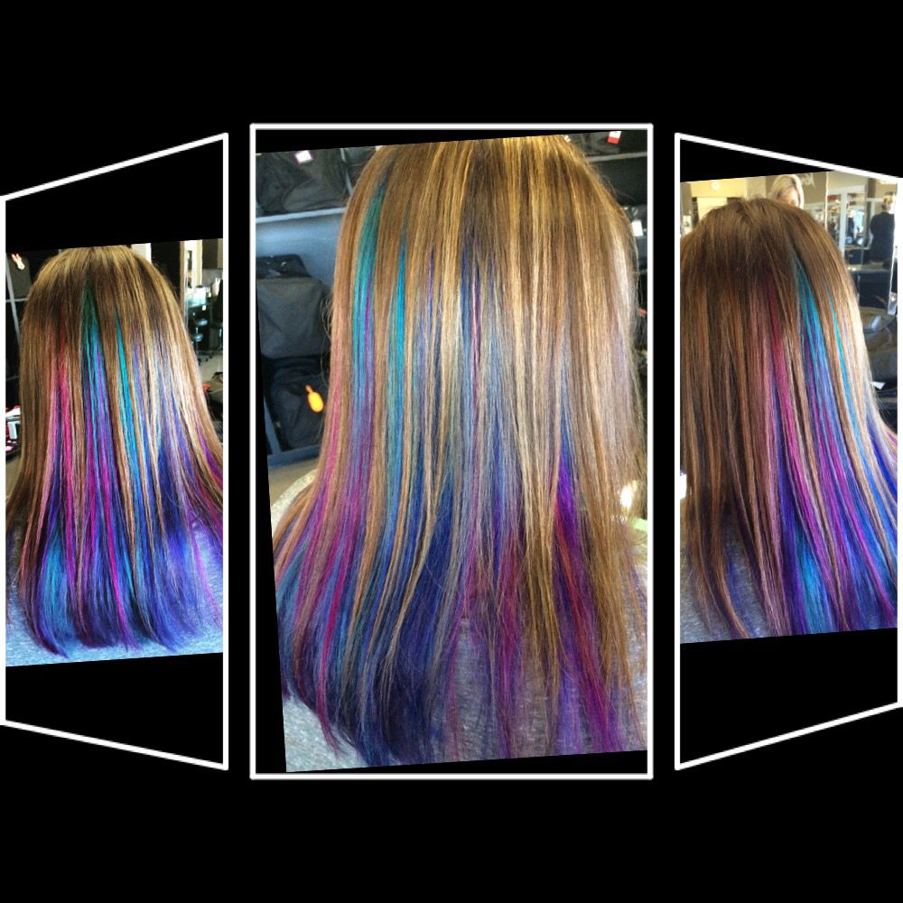 I did this mm hair pinterest crazy hair hair style and blue hair