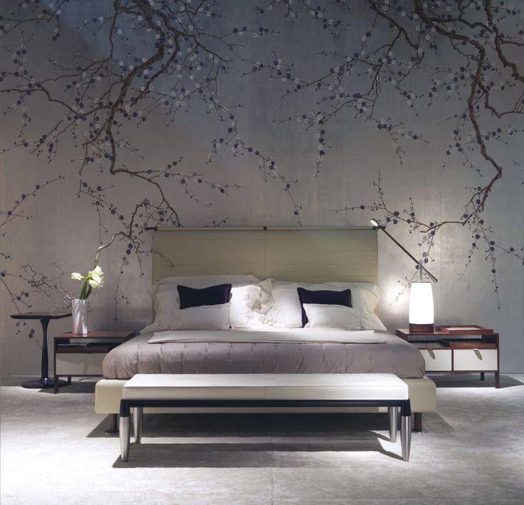 Wandbemalung - Schlafzimmer | Andi | Pinterest | Corner Tv, Mural