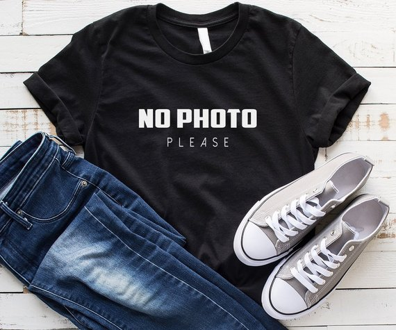 No photo please photographer Shirt gift women Graphic tee Funny T Shirt Men  Womens photography shirt 3b5266cfc