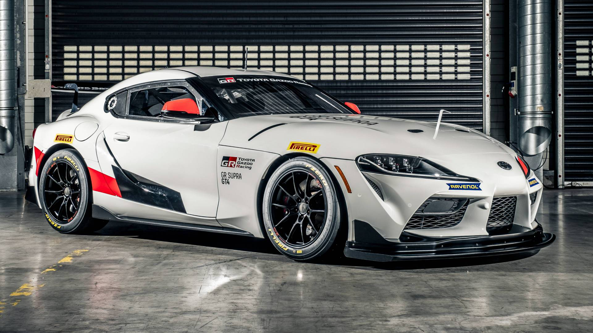 Toyota Reveals Gr Supra Gt4 For Customer Teams Debut Set For 2020 Carmojo Based On The Road Going Model The Toyota Gr Supra Gt4 Race Car Features Many M