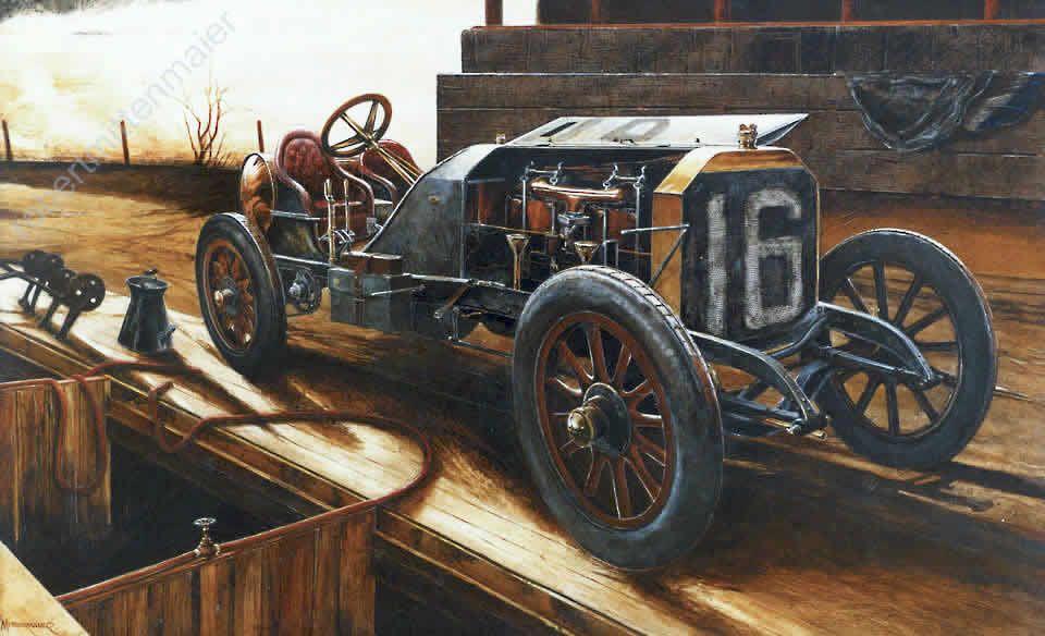 early America | Early American Racecars : Original fine art ...