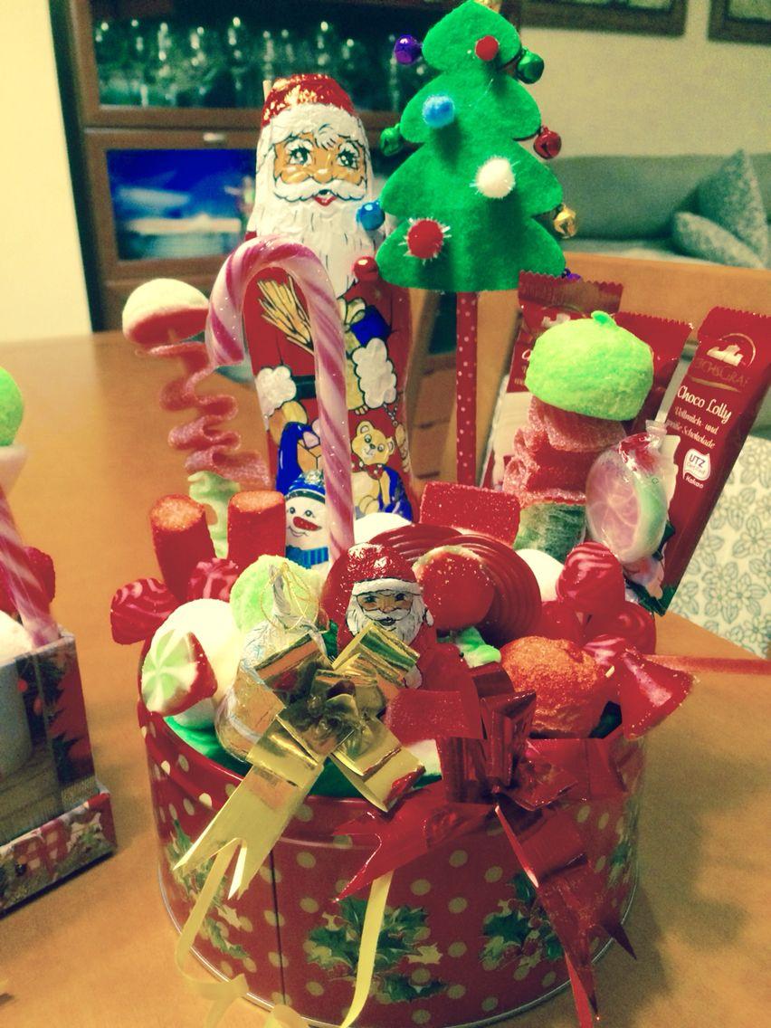 Cesta De Chuches Y Nchocolates Navidad Chuches Cestas