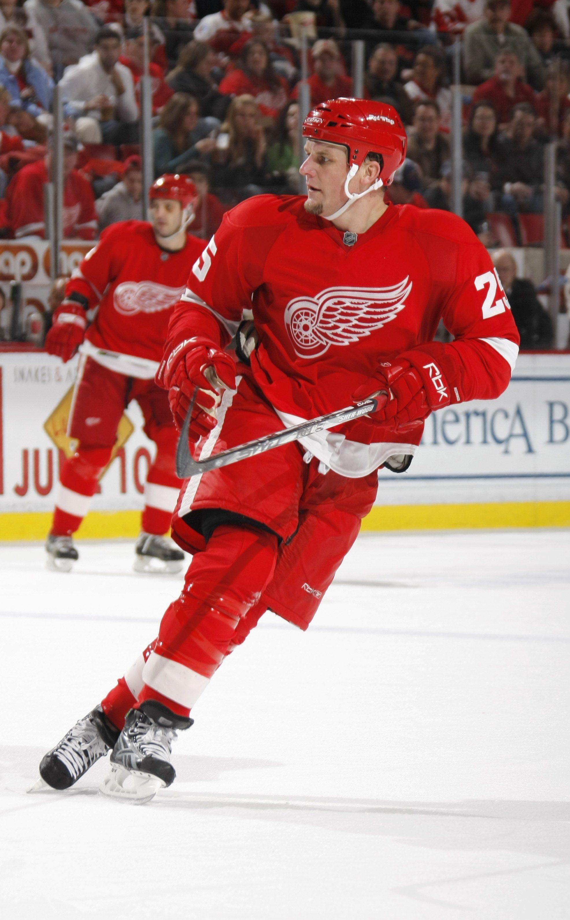 Darren Mccarty Detroit Red Wings Detroit Sports Red Wings
