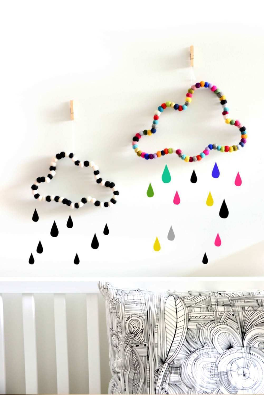 Wall Hanging Ideas For Bedrooms Luxury Cloud Wall Decor Nursery