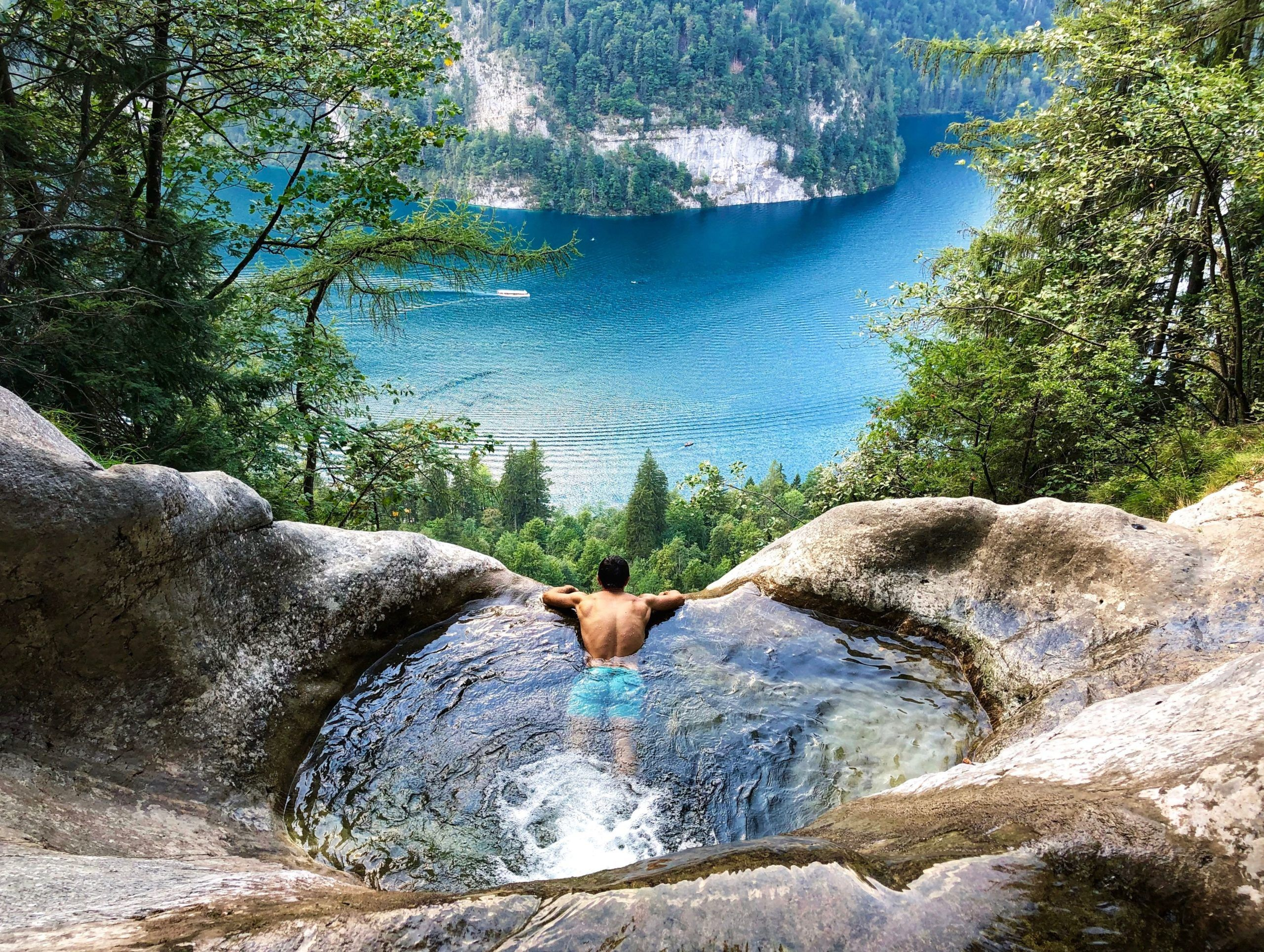 The Natural Infinity Pool At Konigssee One Of The Most Beautiful Places In Germany Ste In 2020 Die Schonsten Orte Deutschlands Schone Orte Schone Orte In Bayern