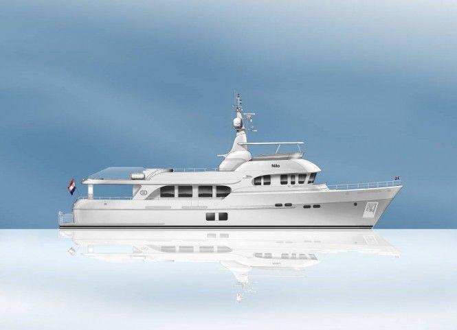 White as Snow  Moonen 100 Explorer Yacht YN195