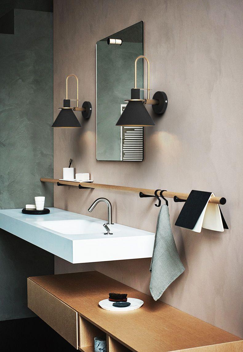 Mur Salon De Nordic Moderne New Lampe Chevet Chambre 0knwOP