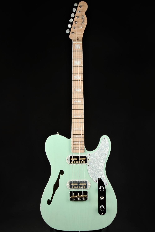 Fender Limited Edition Parallel Universe Vol Ii Tele Magico Transparent Surf Green Fender Telecaster Neck Parallel