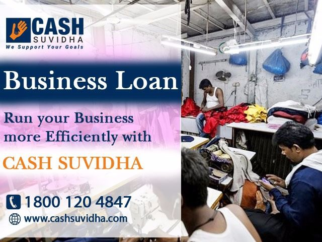 Cash Suvidha Offers Working Capital For Small And Medium Sized Enterprises With Zero Collateral And Low Emi In De Business Loans Online Business Online Lending