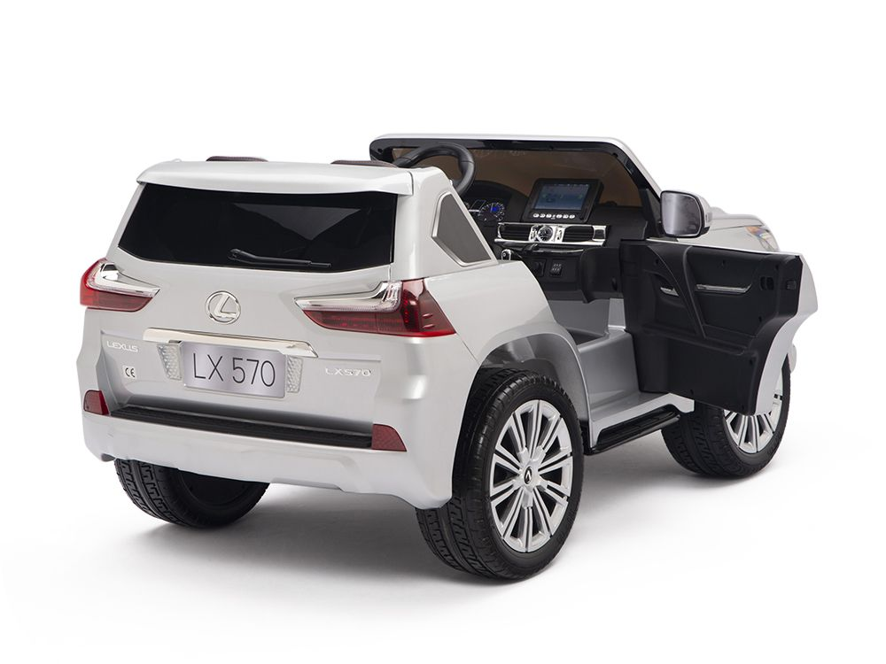 Lexus Lx 570 Toddler 4wd Remote Control Ride On Car With 2 Seats And Touchscreen Lexus Car 4wd