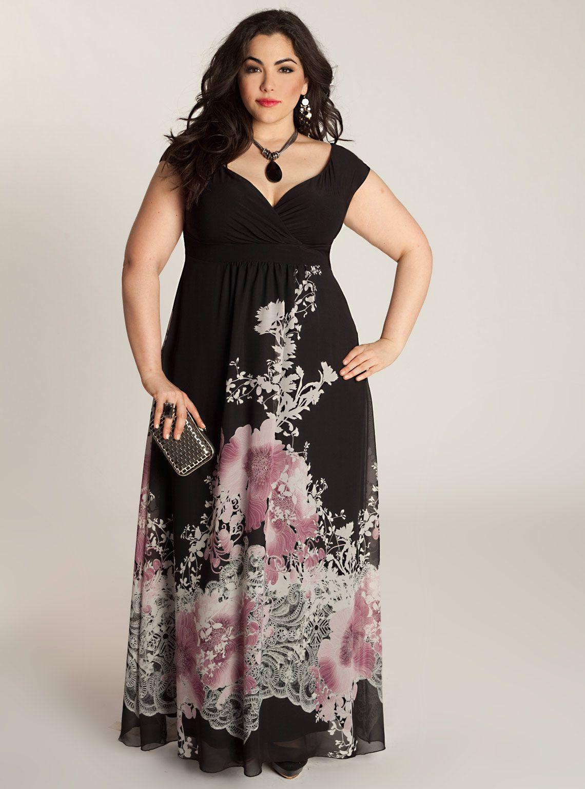 cheap plus size maxi dresses 10 #plus #plussize #curvy ...
