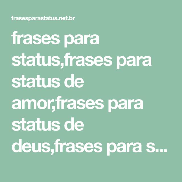 Frases Para Statusfrases Para Status De Amorfrases Para
