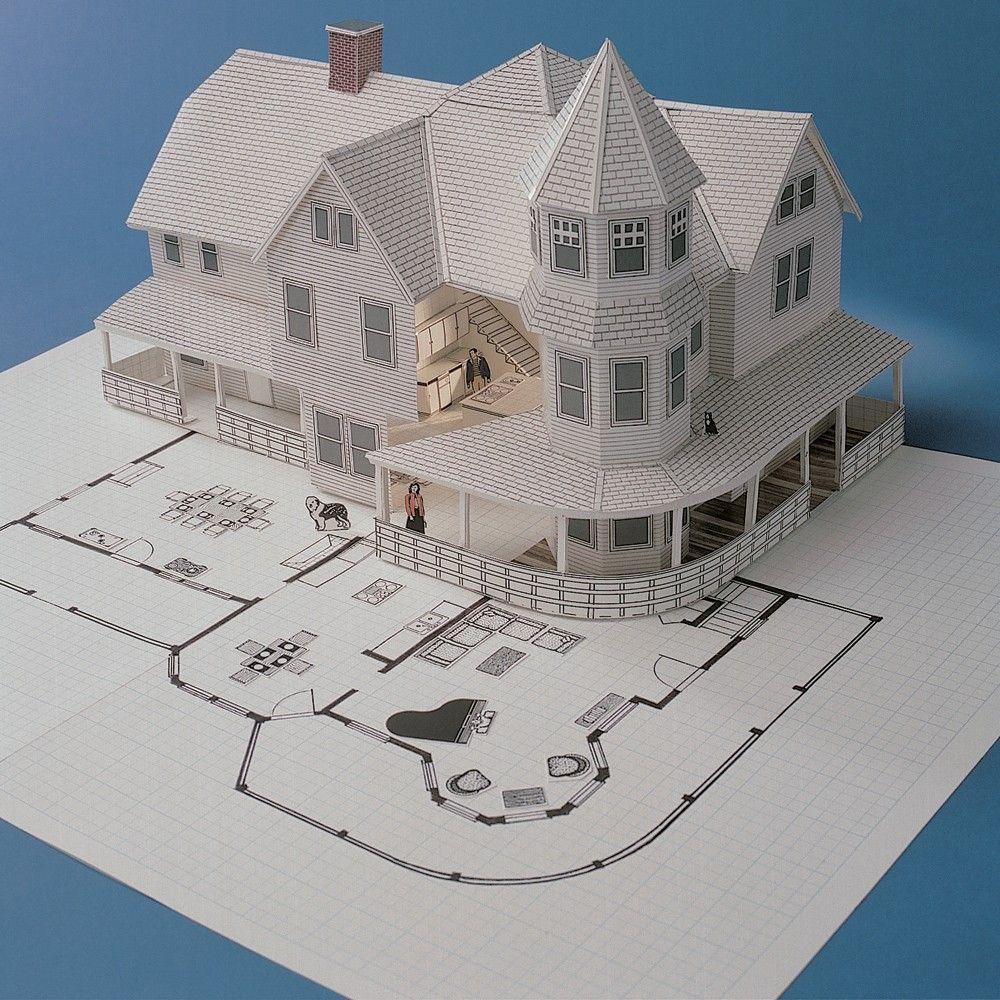 3d Home Design 2d House Plan Kit I Want Pinterest Planos On 3d House Plan Kit