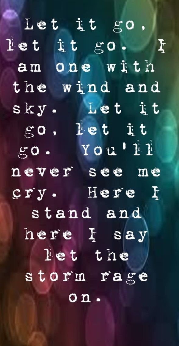 Idina Menzel - Let It Go - SONG LYRICS, SONG QUOTES, SONGS, MUSIC LYRICS, MUSIC QUOTES, MUSIC
