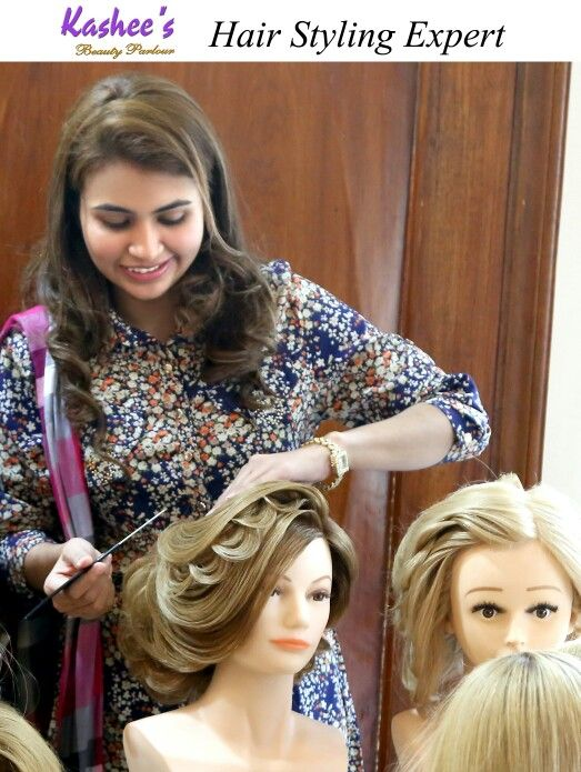 Hair Styling Delectable Perfection In Hairstylinganum Aslam At Kashee's  Kashee's