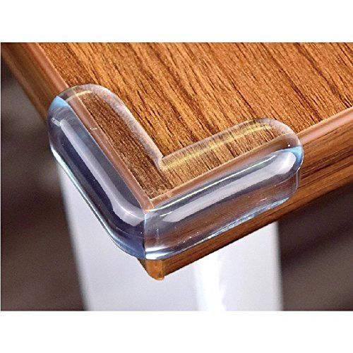 Clear Corner Protectors High Resistant Adhesive Gel Best Baby Proof Corner 20pcs