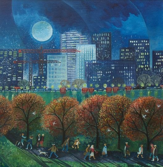 Rush hour Lisa Graa Jensen