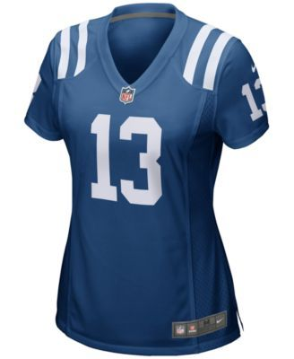 Nike Women s Ty Hilton Indianapolis Colts Game Jersey - Blue L ... b2b8ee9e8