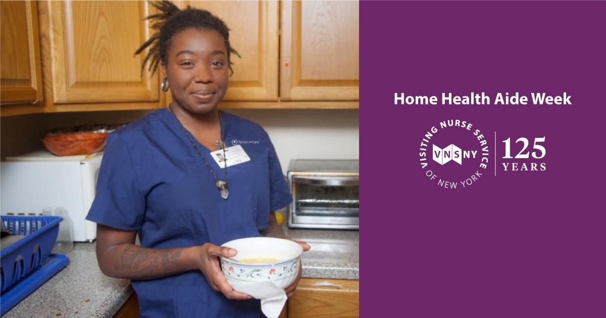 Coaching a client to better health home health aide