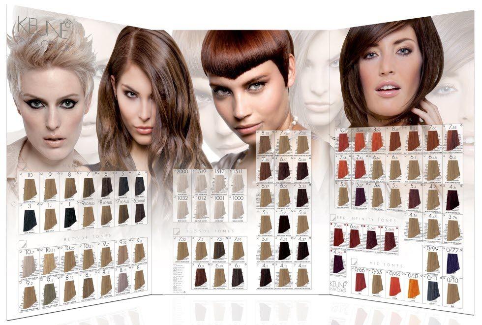 Kraska Dlya Volos Keune Kene Palitra Obzor Cena I Gde Mozhno Kupit Hair Color Chart Hair Color Blonde Hair Color