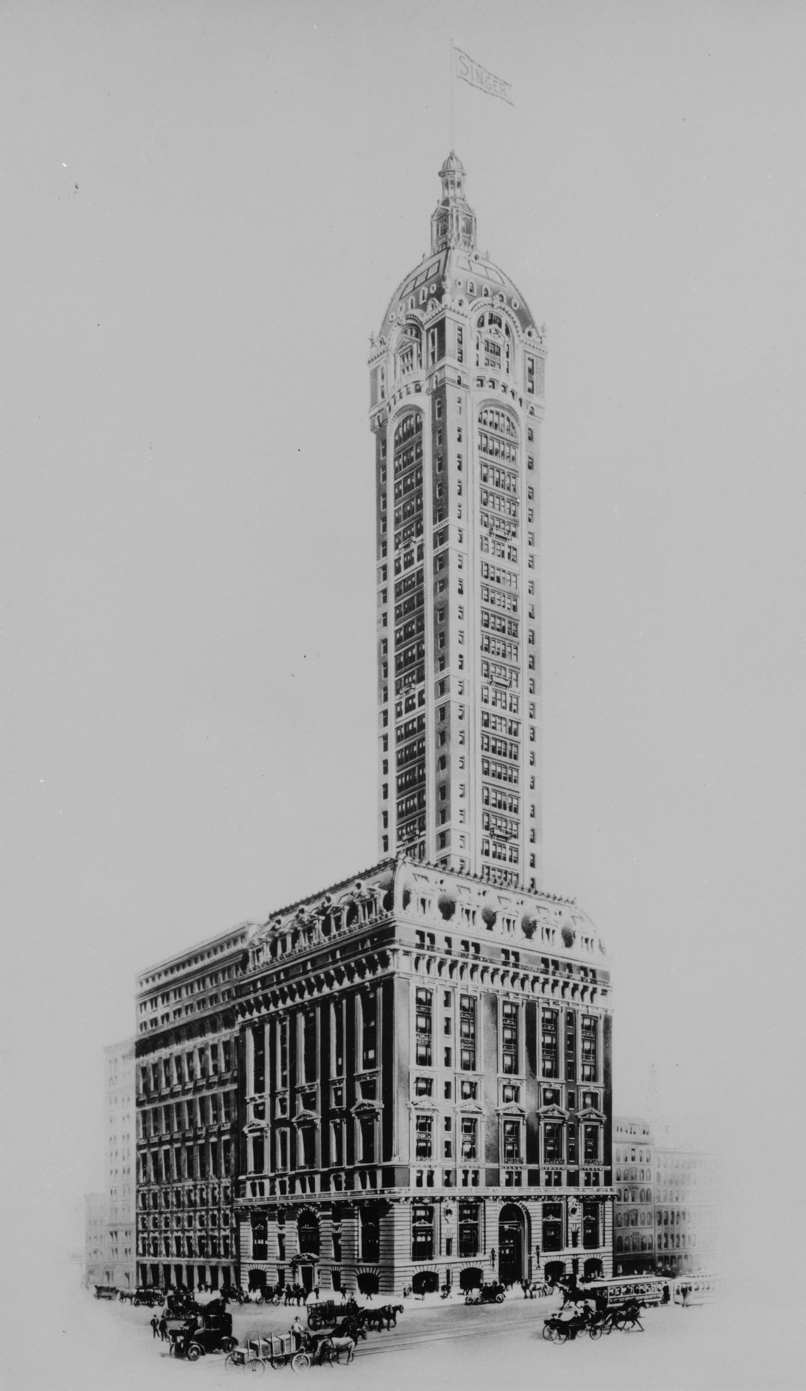 Once The Tallest Building In The World And An Icon Of Nyc The Wonderful Singer Building Was Ra New York City Buildings New York Architecture Building