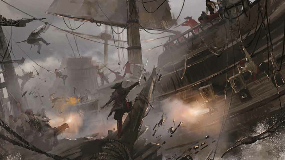 The Art Of Assassin S Creed Iv Black Flag Book Review Assassins Creed Black Flag Assassins Creed Assassins Creed 4