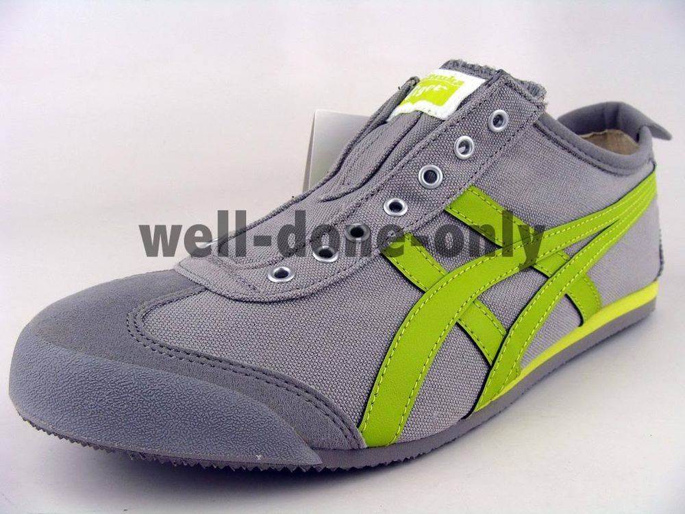wholesale dealer 0ee3e 6e45b Details about Asics Onitsuka Tiger Mexico 66 SLIP-ON grey ...