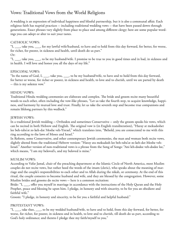 20 Traditional Wedding Vows Example Ideas You Ll Love Weddinginclude Traditional Wedding Vows Wedding Ceremony Traditions Wedding Vows Examples