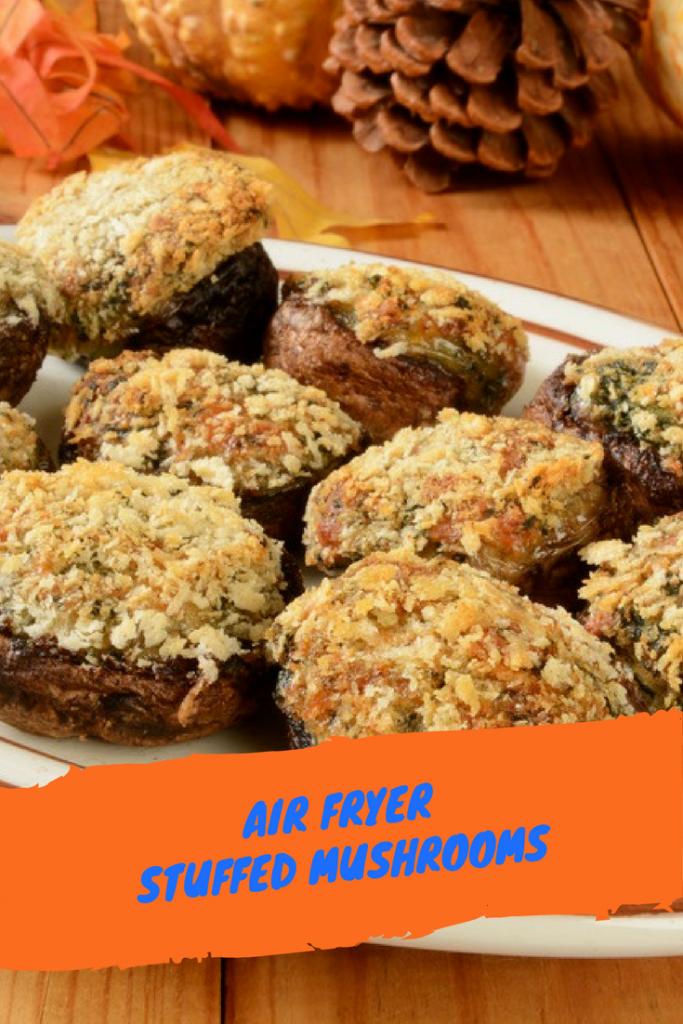 Air FryerStuffed Mushrooms Recipe Side dishes Air