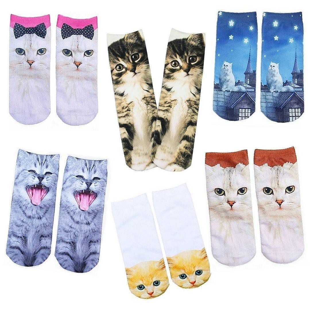 Looking for cat socks to keep ur paws warm? You've come