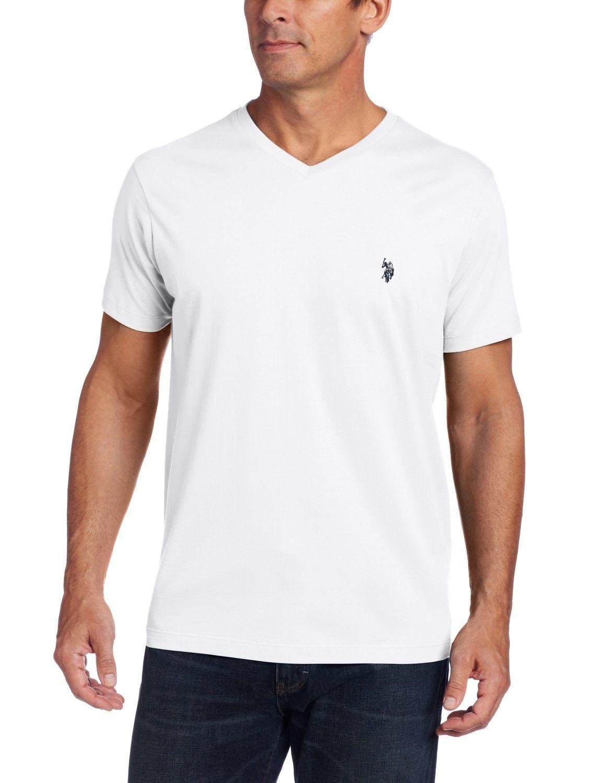 f796cd8ad2aa5 Polo v neck tshirt (white)