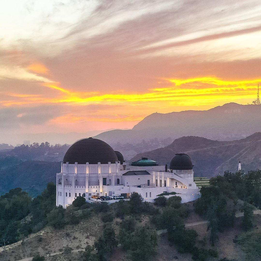 Josh Fuhrman On Instagram Sunset Over Griffith Observatory Taken By Me Abovelosangeles Losangeles Ca In 2020 Griffith Observatory Sunset Instagram