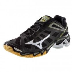 02001fd91bc Mizuno Wave Lightning RX3 Mens Volleyball Shoe 430169.9073 Black-Silver   109.95