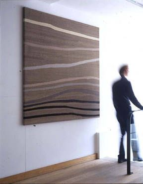 Kate Blee tapestry inspired by water
