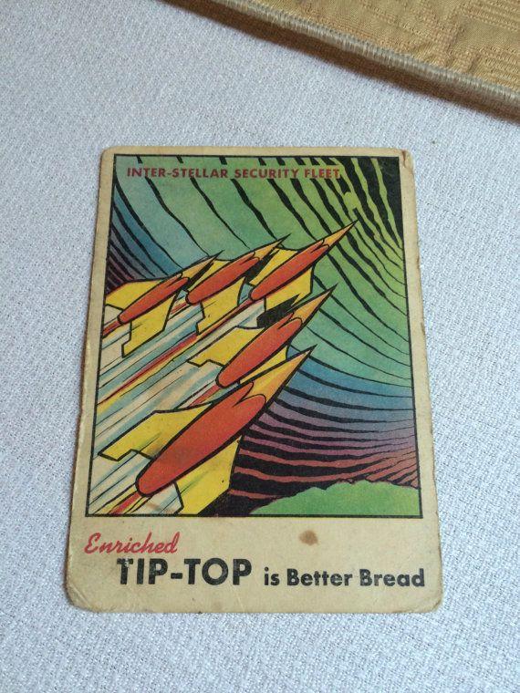 Rare Tip Top Space Card 1954 Interstellar by oldfangledcool