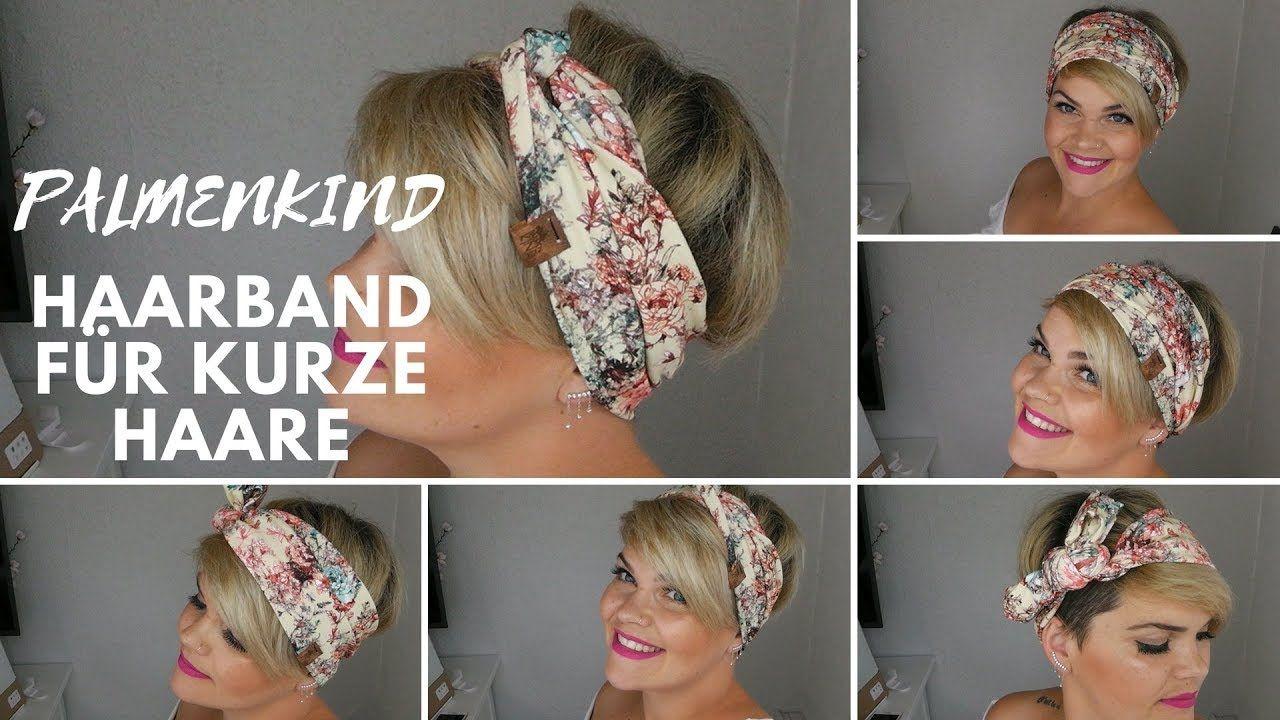 Harrband moderne Band Tuch Kopftuch Bandana Stirnband stylisch NEU