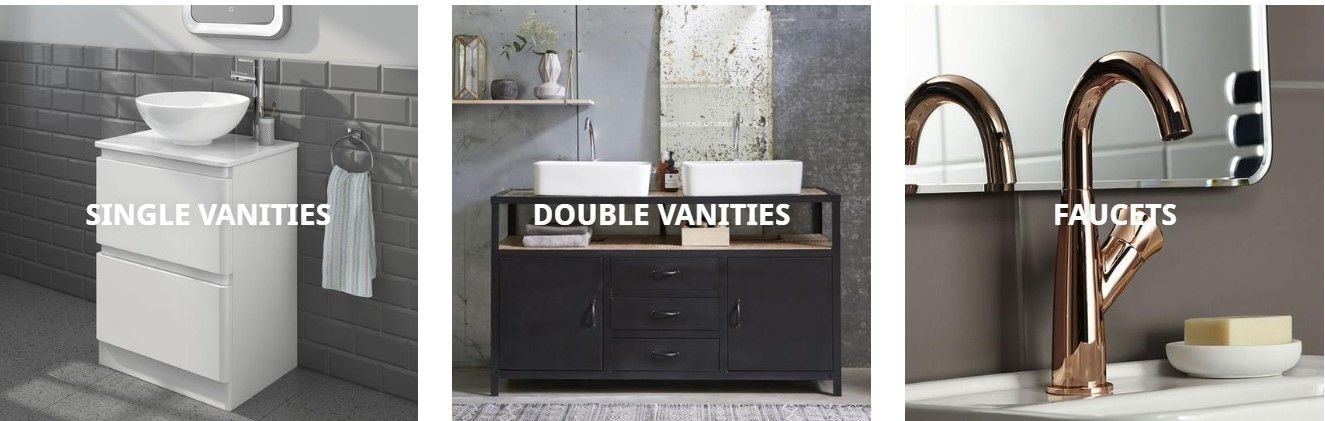 Buy Modular Bathroom Vanities And Accessories Online From Vanitystorehouse Com At The Best Price We Are An Online Re With Images Modular Bathrooms Bathroom Vanity Modular