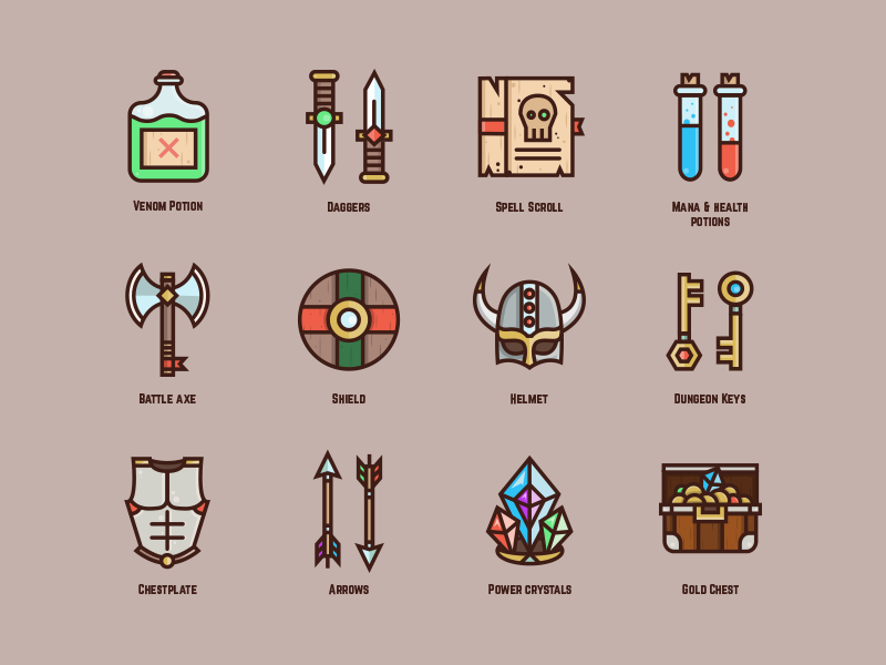 Gaming Icons Vol 1 Final Shot Learning Graphic Design Icon Magic Symbols