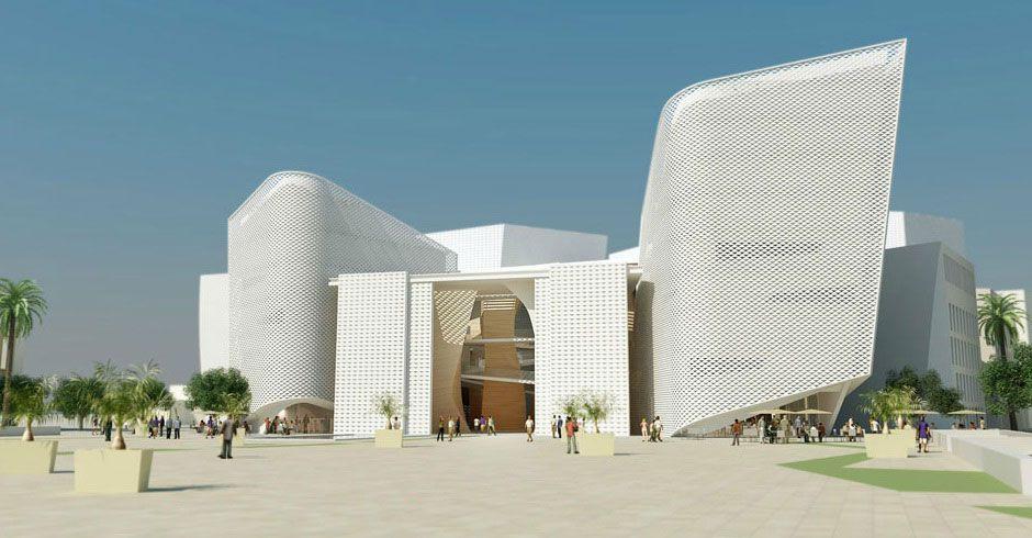 Th tre de casablanca maroc architecte christian de for Architecte casablanca