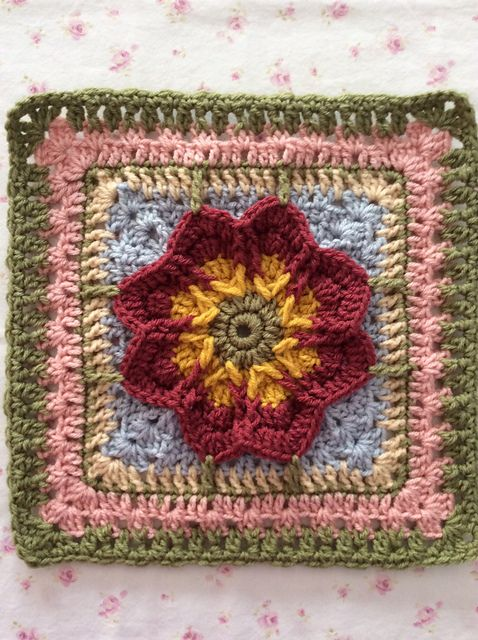 Ravelry: birdlover111's Red-Tinged Yellow Fall Blossom