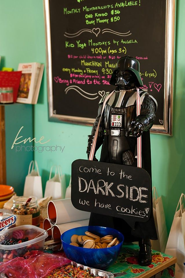 KME Photography: Star Wars Birthday I Heart Kids' Art