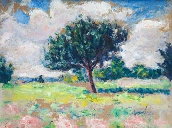 French Wooded Landscape - Roderic O'Conor