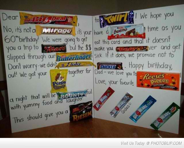 Chocolate bar Mad Libs - write a funny note to your class ...