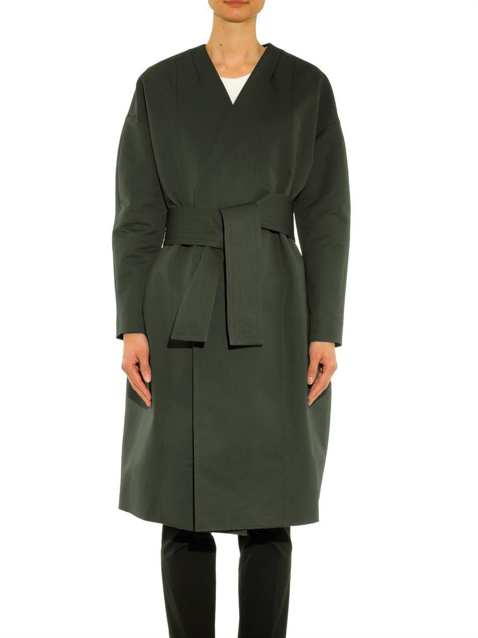 Ter et Bantine Wrap-over kimono jacket