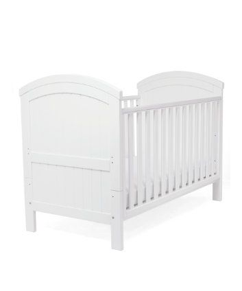 Mothercare Westbury Cot Bed White 130 Pounds