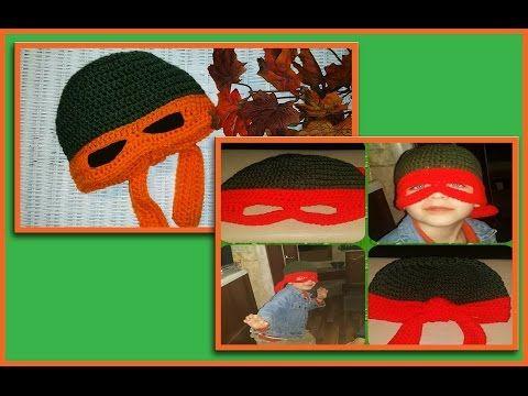 Ninja/Superhero Mask | Crochet Pattern | Costume Creation Tutorial ...