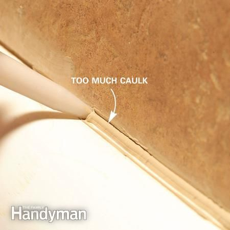 Bathtub Caulking Tips | Bathtubs, Shower installation and Tubs