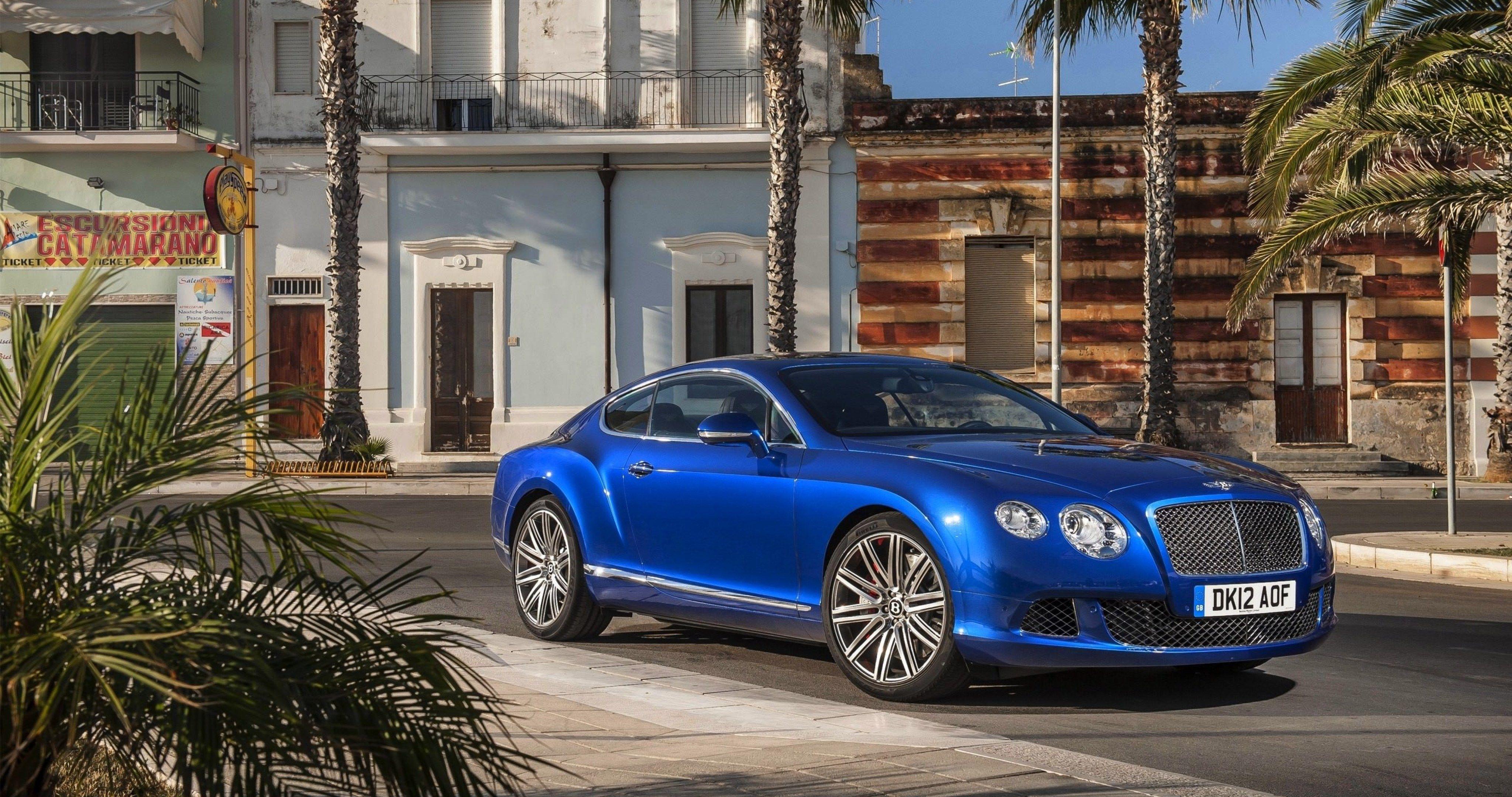 Imagenes De Autos Ultra Hd: Bentley Continental Gt Wallpaper 4k Ultra Hd Wallpaper